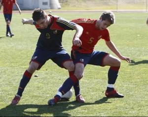 España golea a Azerbaiján y se clasifica para el Europeo