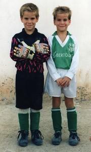 Borja y Samuel una historia paralela en el Fútbol Balear