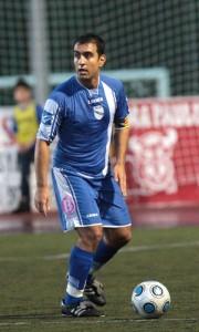 Silvano, jugador del Tercera División del Arenal.