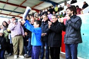 Gran afluencia de público en el torneo de fútbol base de Sa Pobla