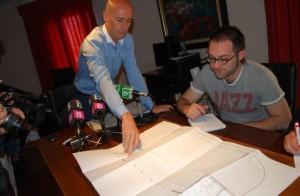 Antoni Pastor en la presentación del proyecto.  Foto: S. Sansó