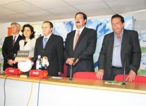 González, Santiago, Vidal, Seguí y Manolo Cámara