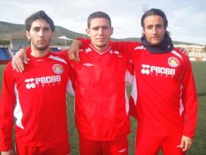 MIrko Disegni, Juri Tacchetto y Jonathan Tranquilli los tres fichajes del Ibiza