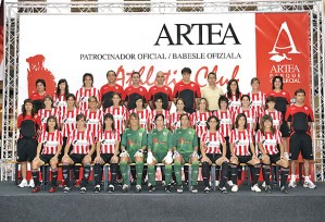 El partido del Athletic contra el Prainsa fue el elegido para el primer control antidopaje
