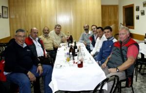 Cena de fotografos de Fútbol Balear, con Bernat Bestard