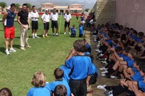 Aduriz visitará a los niños que participen en el Campus de Semana Santa
