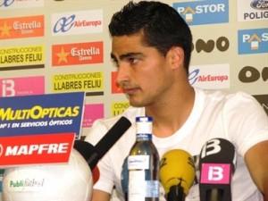 Gonzalo Castro en rueda de prensa
