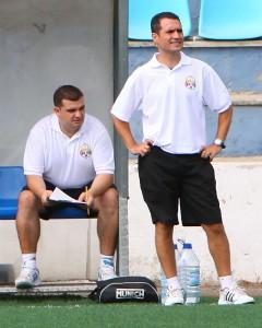 Juan Romero entrenador del Ferreries Juvenil