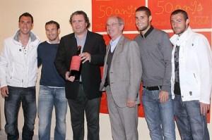 Ramis, Josemi, Ramón Servalls, Simó Andreu, Mario y Varela