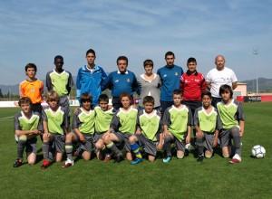La selección sub-12 parte hacía Burgos