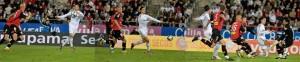 Secuencia del control con la mano de Ronaldo