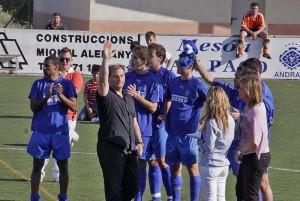 Paco Esteban se despide del Andratx
