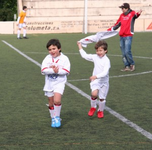 Jugadores del Alaró.Foto Archivo