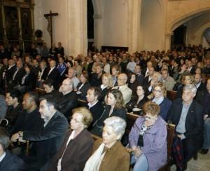 Más de tres mil personas asisten al funeral de Miquel Dalmau en Sineu