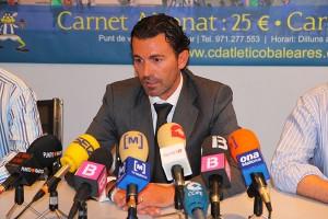 Fernando Crespí en rueda de prensa