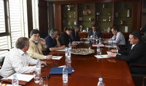 Reunión de la comisión de Tercera División en la RFEF