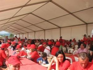 Más de 400 aficionados en la trobada mallorquinista en Lluc