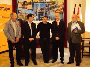 Oller, Jaume, Rovira, Blasco i López a la presentació