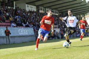 Jugada del partido. Gentileza de La Región para Fútbol Balear