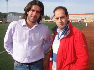 Mafezzoni con Andoni Valencia en C'an Mises