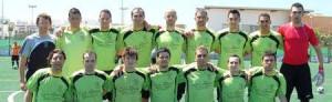 Primer equipo del Puig d´en Valls que se ha proclamado campeón de Tercera Regional.  LUIS HERRERA