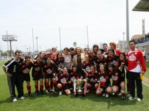 El Rayo Vallecano se proclama por segundo año consecutivo campeón de la Superliga