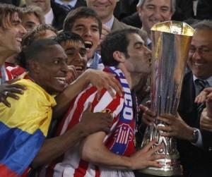 El Atletico de Madrid Campeón de la Europa Liga