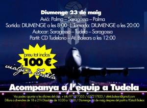 El Atco. Baleares organiza el viaje a Tudela