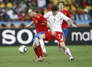 España pierde su primer partido del Mundial con Suiza