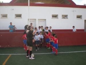Pasillo al campeón de grupo el Sant Marçal