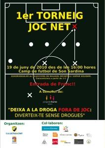 Poster del Torneo Joc Net. Pulsar para ampliar