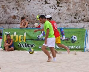 El campeonato de España de Fútbol Playa se juega en Can Pstilla