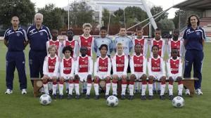 Victoria clara del equipo del Ajax frente al Brujas
