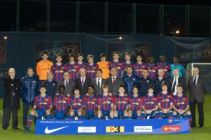 El Barça de Sergi Barjuan participará en el Torneo Juvenil de Ferreries