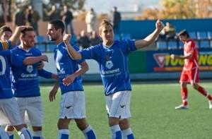 GARCÍA. El jugador celebra uno de los siete goles que ha conseguido esta temporada - Archivo