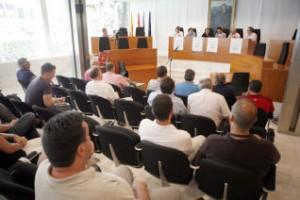 La presentación del Torneo tuvo lugar en la sala de plenos del consell de Ibiza