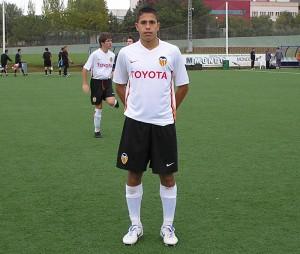 Sergi Garcia Mut en el Valencia