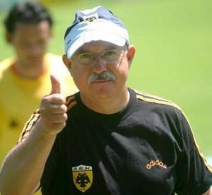 Serra Ferrer, en su etapa como técnico del AEK de Atenas.