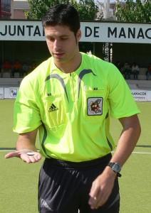 Pedro Sureda Cuenca nuevo arbitro de segunda A