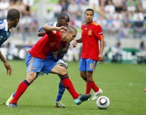 España pierde en la final ante Francia