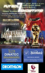 Cartel Torneo Futbol 7 SHOWTIME11