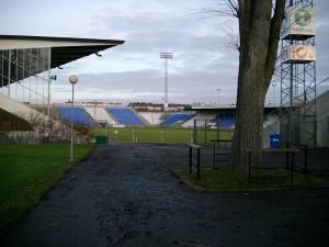 Estadio Iddrotsparken donde se ha jugado el partido