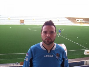 Dani Paniza, entrenador del Juvenil Nacional