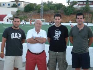 Javi Herreros presentado como entrenador de la Penya Arrabal