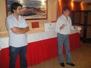 Pepe Vidal y Tolo Darder, Foto Fútbol Pitiuso