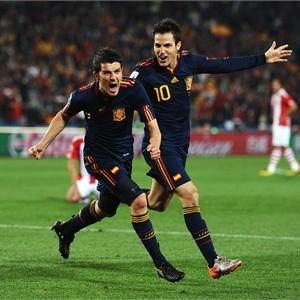 Copa Mundial FIFA 2010 Cuartos de Final  Paraguay 0-1 España ddc1ff72f6d04