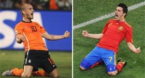 villa y Sneijder