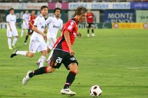 Tomás Pina en el primer partido de Liga contra el Real Madrid