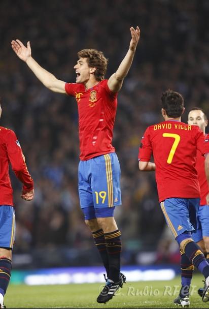España silencia con fútbol y goles el santuario de Escocia - Selecciones -  FutbolBalear.es 1efec2ee38b25