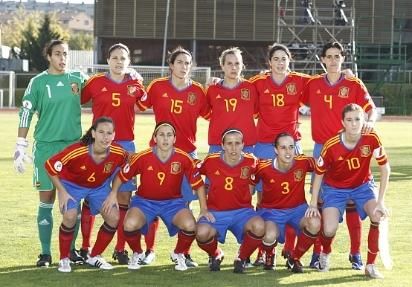 La selecci n espa ola absoluta femenina consigue una for Federacion espanola de futbol sala